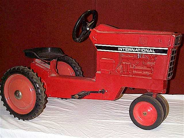 Ertl International Pedal Tractor Parts on Pedal Tractor Replacement Parts