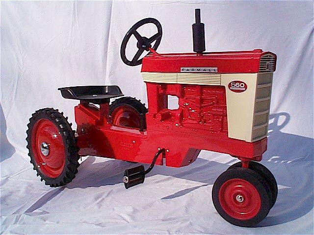on Farmall 560 Tractor