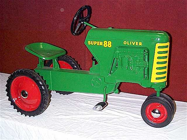 Pedal Tractor Replacement Parts : Oliver