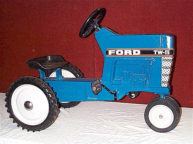 Tractor Pedal Car Parts : Ertl ford pedal tractor