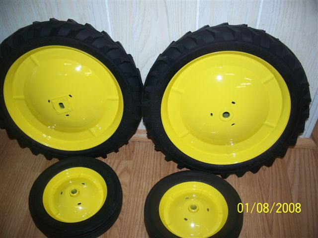 Pedal Tractor Replacement Parts : Eska mounted yellow